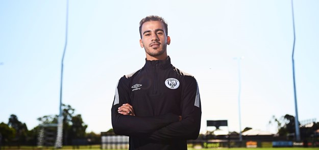 Profile image of Hakeem Al-Araibi poses at CB Smith Reserve on February 22, 2019 in Melbourne, Australia.